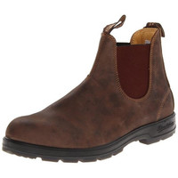 Blundstone Mens 585 Leathered V-Cut Ankle Boots