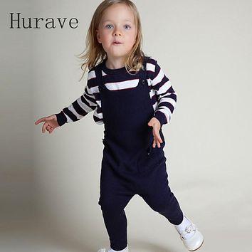 Autumn  baby girl overalls pants children overalls girl boy jumpsuits baby cute knitted overalls kids clothes pants
