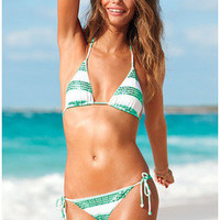 Bra Female Striped Hats Swimwear Stripes Ladies Swimsuit Bikini = 5836520961