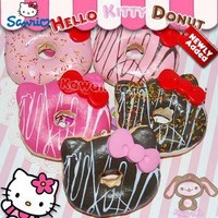 Sanrio Hello Kitty Squishy Jumbo Donut Charms