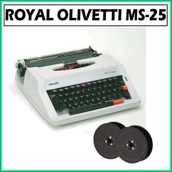 Royal Ms-25 Olivetti Plus Manual Typewriter