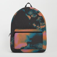 dont look away Backpack by duckyb