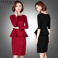 women suits with skirts one-piece office uniform designs women AA2299 Y