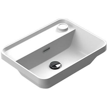 Sonia EVOLVE Washbasin 20 inches Single Drop-In Rectangular MX6 Bathroom Sink