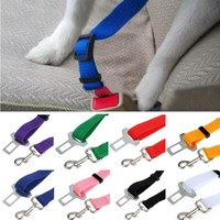 New Car dog Seatbelt  Pet Cat Dog Safety