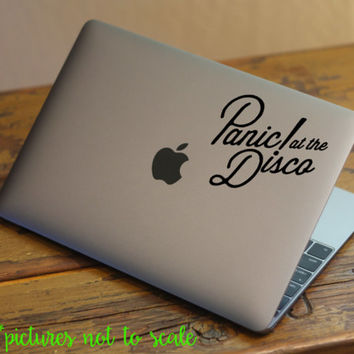 """FREE SHIPPING! - 4"""" Panic! At the Disco Band decal 