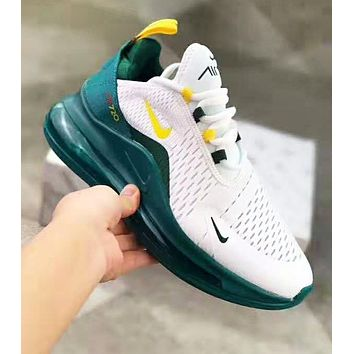NIKE Air Max 720 Fashion New Hook Print Women Men Sports Leisure Air Cushion Shoes