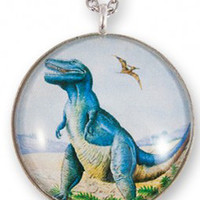 Now or Never Dinosaur Necklace