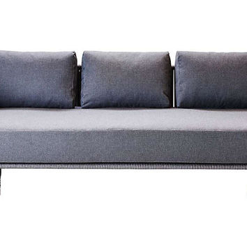 Moments Sofa, Gray | One Kings Lane