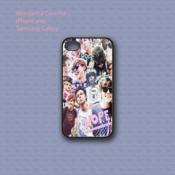 Asthon Irwin Collage - Print on hard cover for iPhone case and Samsung Galaxy case