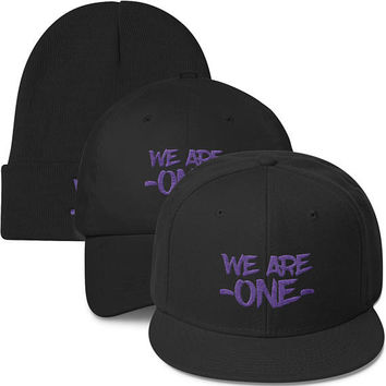 We Are One Hat. Disney's Animal Kingdom, Rivers of Light Inspired Hat. Snapback, Dad Hat and Beanie