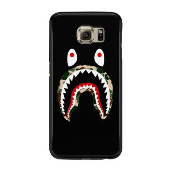 Shark Camo Samsung Galaxy S6 Edge Case
