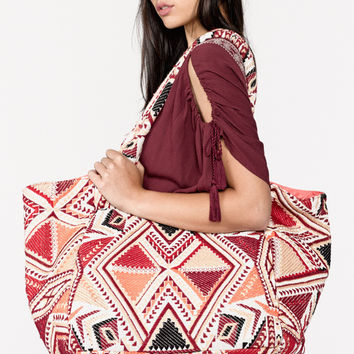 """""""Astor"""" Tote by Love Stitch"""