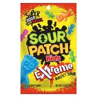 Sour Patch Soft and Chewy Candy for Kids - Extreme Sour (7.2 oz)