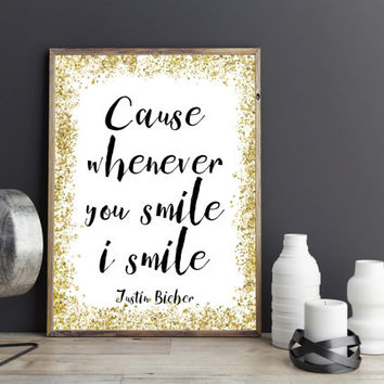JUSTIN BIEBER POSTER, What Do You Mean Wall Art,Dorm Room Decor,Quote Art,Girls Room Decor,Gift For Her,Digital,art,Song Lyrics,Quote Prints