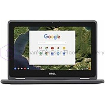 Dell Chromebook CRM3189-2NN30 Laptop PC - Intel Celeron N3060 1.6 GHz Dual-Core Processor - 4 GB DDR3L SDRAM - 16 GB Solid State Drive - 11.6-inch Touchscreen Display - Chrome OS - Black