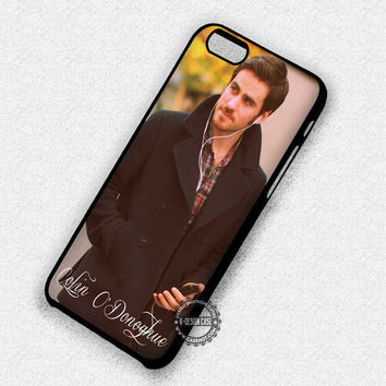 Colin O'Donoghue Captain Hook Once Upon a Time - iPhone 7 6 5 SE Cases & Covers