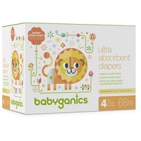 Babyganics Diapers, Club Pack (Select Size)