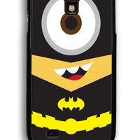 Despicable Me Batman Minion for Samsung Galaxy S4 Hard Cover Plastic