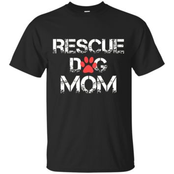 RESCUE DOG MOM Tshirt - mother's day Ultra Cotton T-Shirt