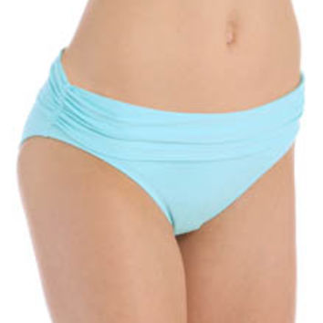 Bleu by Rod Beattie 15501 Solid Midster Swim Bottom