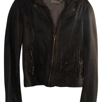 DOMA Leather Jacket 59% off retail