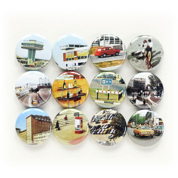 Little Cities Magnets | Sets of 3