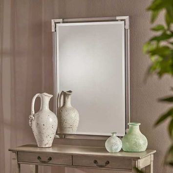Ellissia Rectangular Wall Mirror by Christopher Knight Home - Clear | Overstock.com Shopping - The Best Deals on Mirrors