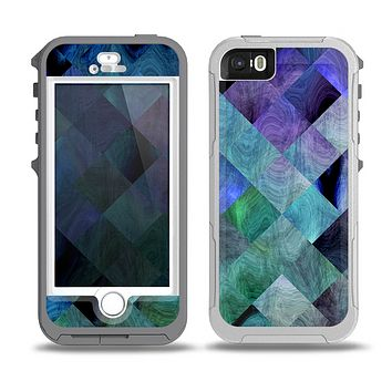 The Multicolored Tile-Swirled Pattern Skin for the iPhone 5-5s OtterBox Preserver WaterProof Case