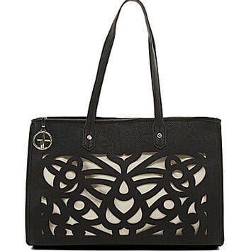 Gianni Bini Flora Perforated Tote | Dillards.com