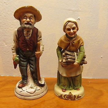 VINTAGE FRENCH COUNTRY COUPLE WITH NO TAGS BOTH IN EXCELLENT CONDITION