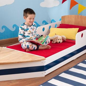 Toddler Boat Bed