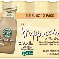 Starbucks Coffee Frappuccino - Vanilla - 12/9.5 Oz.