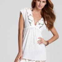 BECCA® by Rebecca Virtue Peace  Quiet Lace Coverup - Swimwear - Apparel - Women's - Bloomingdale's