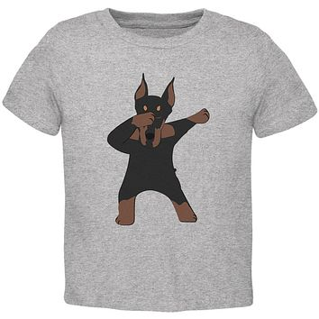 Dabbing Doberman Toddler T Shirt