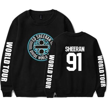 KPOP BTS Bangtan Boys Army  hot sall ed sheeran fashion Men/Women printing cool pattern trend casual round neck long sleeve Sweatshirt xxs-4xl AT_89_10