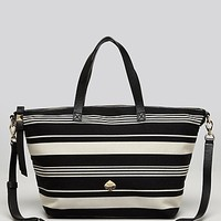 kate spade new york Tote - Leroy Street Linsley Stripe with Strap | Bloomingdale's