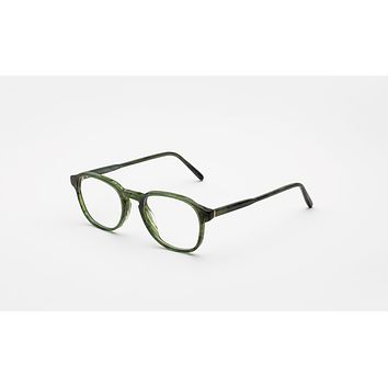 Super - Numero 02 48mm Green Eyeglasses / Demo Lenses