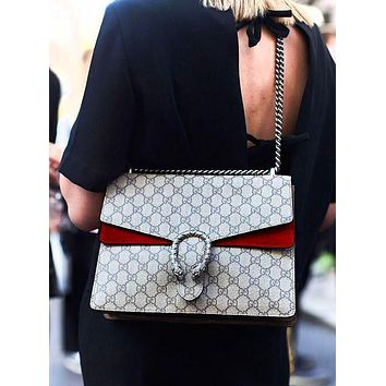 GUCCI Fashion Hot Selling Spicy Girls Alcoholics Shoulder Bag Shopping