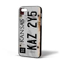 Supernatural License Plate for Iphone Case (iPhone 5c black)