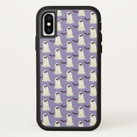 Halloween Ghost Design iPhone X Case