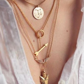 Jewelry New Arrival Shiny Gift Accessory Stylish Necklace [6033918401]