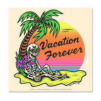 Vacation Forever Art Print (Limited Edition)