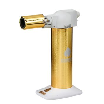 Newport Cigar Torch White & Gold