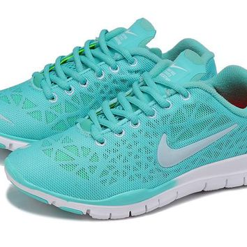Women's Nike Free TR FIT 3 Training Shoes Mint/White