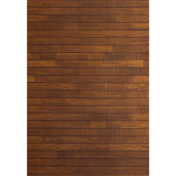 Dark Wood Floor Yoga Mat