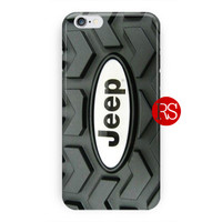Jeep Tire Logo For iPhone 6 / 6 Plus Case