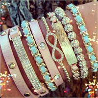 This website sells awesome Stacked bracelets | Style Tips