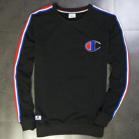 Champion Fashion Casual Long Sleeve Sweater Pullover Sweatshirt