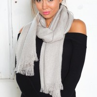 Toss It scarf in silver